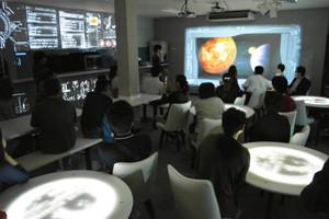 11日に期間限定でオープンするスタービレッジカフェ=阿智村智里で