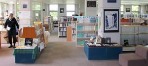 「あかちゃんタイム」を試行的に導入する黒部市立図書館宇奈月館