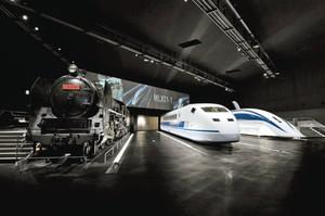 第11回ブルネル賞を受賞したリニア・鉄道館=名古屋市港区で