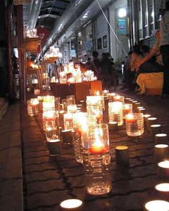 夏至に合わせて開かれ、多くの人が訪れた前回のイベント=西区の円頓寺本町商店街で