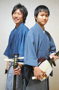 S-SKYの加藤佑典さん(右)と佐久間翔太さん(加藤さん提供)