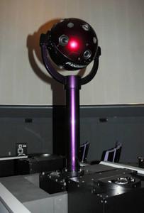 プラネタリウムの最新機器「パンドラ」