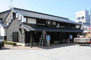能登の食と技を発信する店がオープンする輪島工房長屋=輪島市河井町で