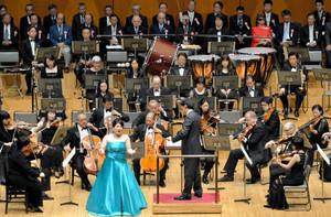 大勢の観客を楽しませたラ・フォル・ジュルネ金沢のオープニングコンサート=県立音楽堂で