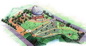 来年3月に開園する「瀬戸万博記念公園」(仮称)の完成イメージ図