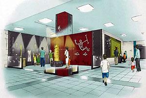 1日にリニューアルオープンする野洲市歴史民俗博物館の完成予想図(博物館提供)