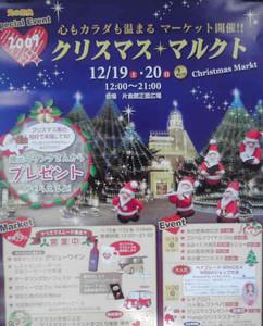 電飾で冬の上諏訪温泉街を彩る「諏訪を彩る光の祭典」のポスター
