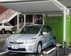 自分で運転を試すことができるPHV=豊田市内で