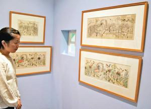 絵本作家ハンス・フィッシャー(1909~58年)の生誕100年を記念した特別展=高浜市やきものの里かわら美術館で