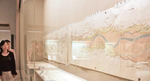 年貢増収のため藩が石黒に作らせた「射水郡庄川筋御普請所絵図」