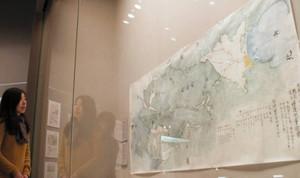 石黒と北本による成果の一つで国重要文化財の「越前近江糧道測量絵図」