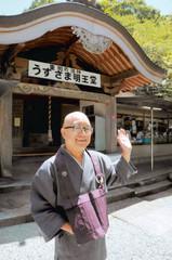 トイレの神様について語る住職の中島住職