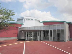 29日に開館する富山ガラス工房第2工房=富山市西金屋で