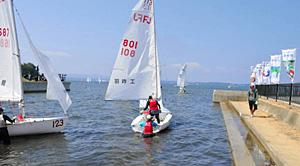 2012年8月に高校総体が開かれた会場=七尾市和倉温泉運動公園ヨットハーバーで